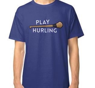 play hurling classic tee