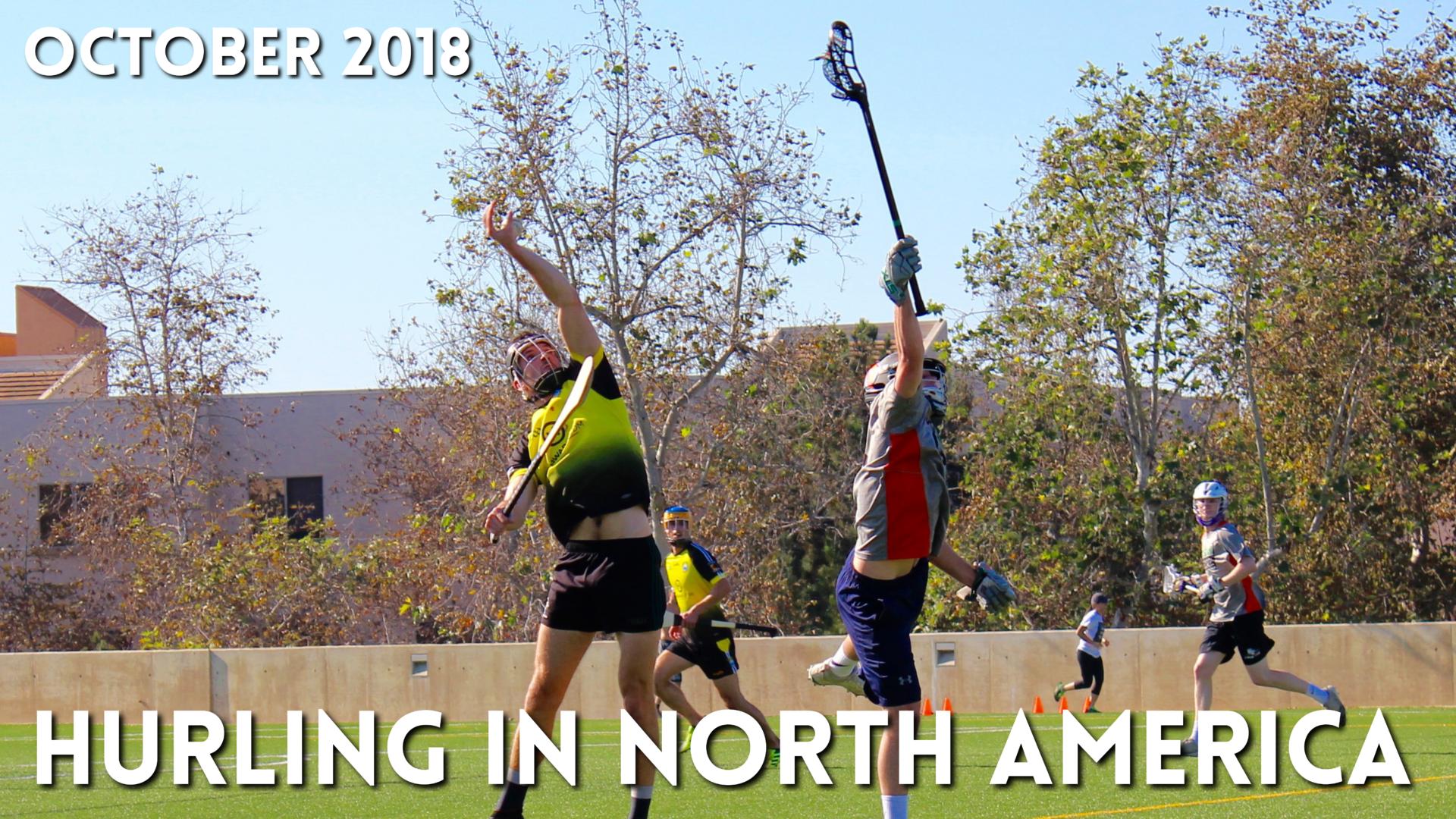 Hurling in North America News | October 2018