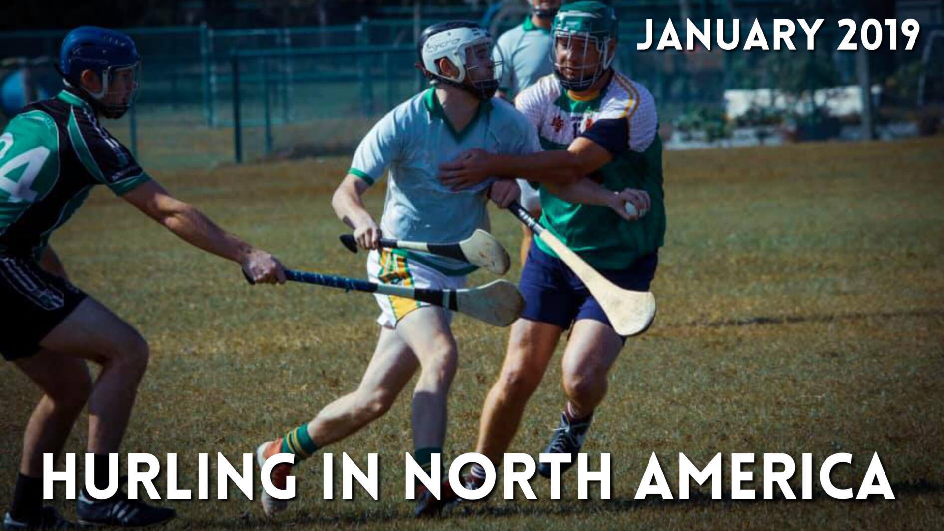 Hurling in North America News | January 2019