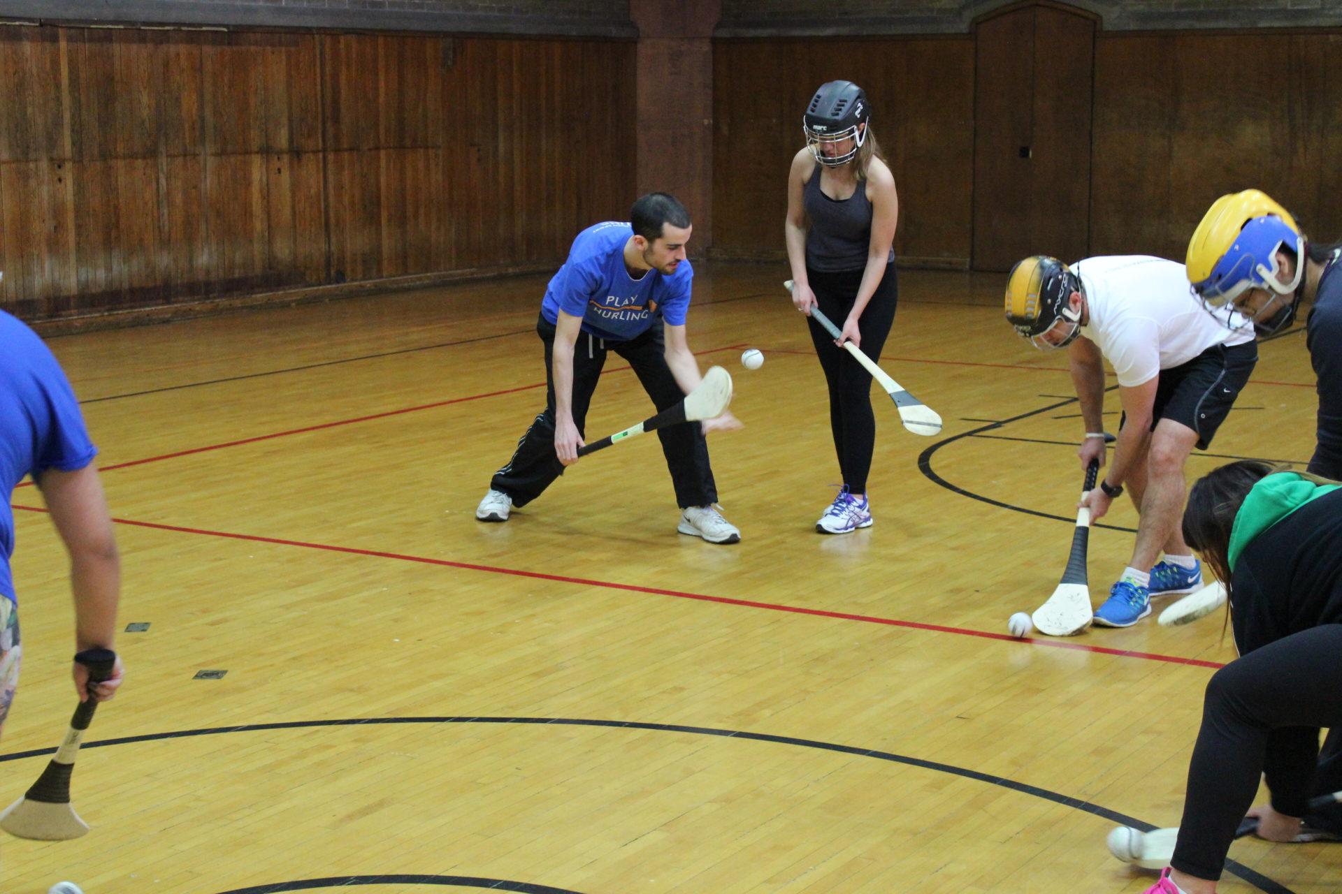 UofT Hurling Lessons roll lift